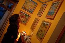 Vernisáž představila umělecká díla