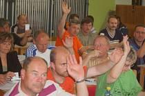 V pátek večer se v tachovské sportovní hale konala valná hromada Sportovního sdružení Tachovska
