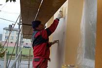 DO FINÁLE spěje v těchto dnech rekonstrukce obecního úřadu ve Starém Sedle.