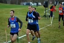 Jen čtyři vteřiny dělily Tomáše Jašu (s.č. 19) od obhajoby loňské bronzové medaile na republikovém šampionátu v krosu. Tentokrát v Dříteči jeho finiš nestačil, přesto z běžců z Tachovska zaznamenal nejlepší výsledek.