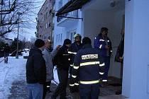 Únik plynu ve Stříbře vyhnal rodiny do mrazu.