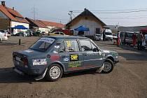 Ve Stříbře a okolí se jela Rallye show
