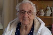 Dne 22. září 2012 oslavila paní Anežka Kazíková z Trpíst významné životní jubileum.