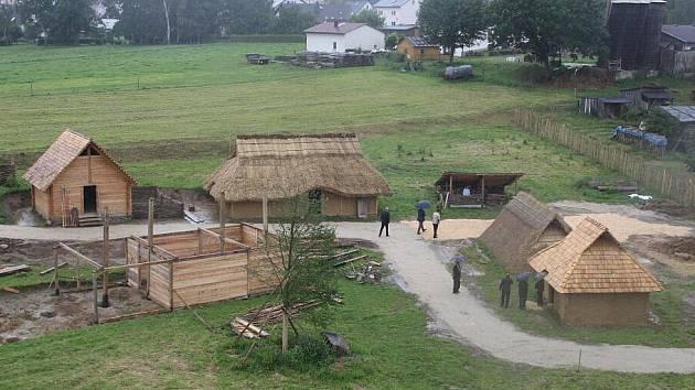 Ze slavnostního otevření historického parku
