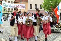 Ve Stříbře se lidé těšili z kulturní akce - Dožínek.