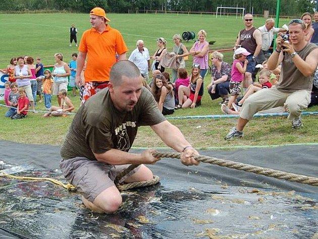 Vodní hry v Černošíně