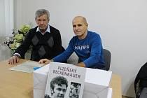 V Zadním Chodově se uskutečnila beseda s legendárním fotbalistou a trenérem Františkem Plassem.