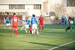 Fotbalisté Tachova na závěr podzimní části sezóny porazili Táborsko B.
