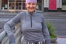 ZUZANA SOUČKOVÁ našla zálibu v běhání. To ji přivedlo na start maratonu v San Francisku.