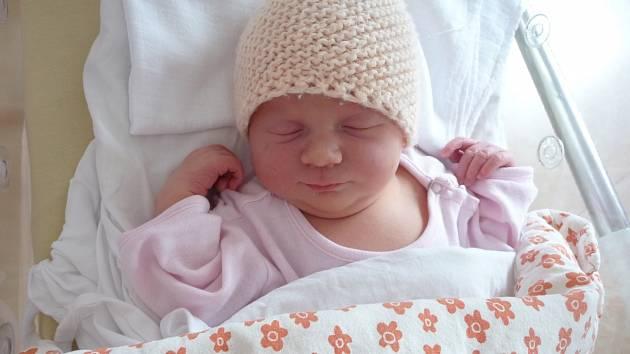 Viktorie (3,41 kg, 49 cm) se narodila 13:32 ve Fakultní nemocnici v Plzni. Ze své prvorozené holčičky se radují maminka Tereza Adamcová a tatínek Pavel Šimlinger z Těchlovic.