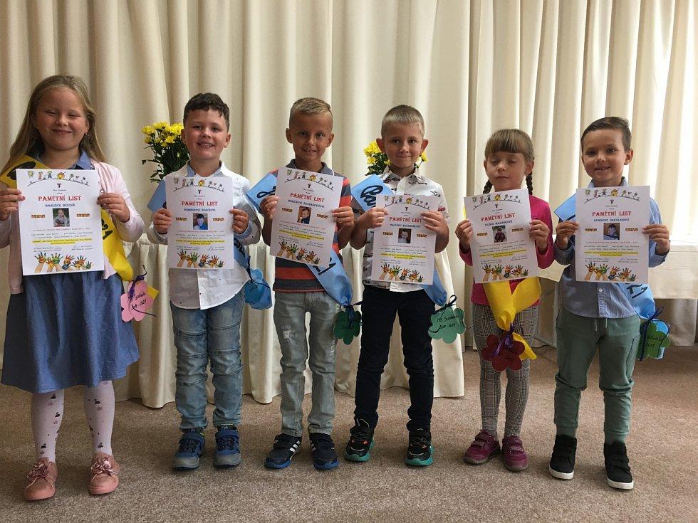 Obecní úřad a Mateřská škola Studánka se na konci prázdnin rozloučily s předškoláky.