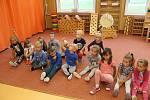 Ocenění dětí v MŠ Záchlumí.