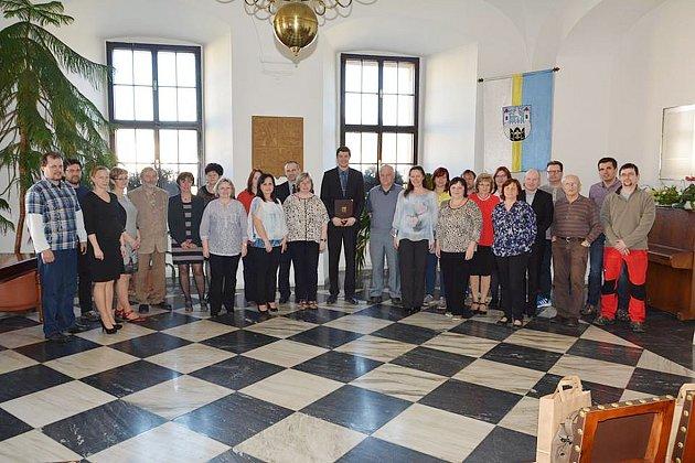 Stříbro - Na stříbrské radnici byli oceněni nejlepší učitelé, vedoucí kroužků a trenéři.