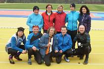 """Atletika: Běžci z Tachovska se zúčastnili třetího dílu seriálu """"Chebská běžecká zima""""."""