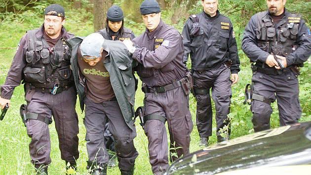 Prověřovací cvičení policistů