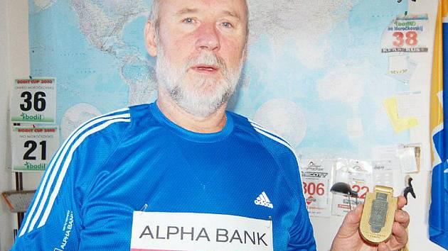 Čtyřiapadesátiletý veterinář Ivo Moročkovskij z Přimdy