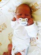 Petr (3,10 kg, 49 cm) se narodil 25. dubna v 6:20 v plzeňské Mulačově nemocnici. Ze svého prvorozeného chlapečka se raduje maminka Petra Krýslová z Benešovic.