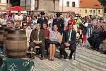 Stříbrští oslavovali nové náměstí.