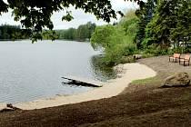 Branka má novou pláž, lavičky i prolézačky