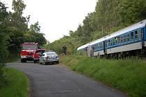 V sobotu večer srazil vlak u Plané mladou ženu