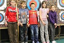 Lukostřelecký kroužek se pravidelně schází každé pondělí v Tachově v moderní střelnici Na Rychtě.