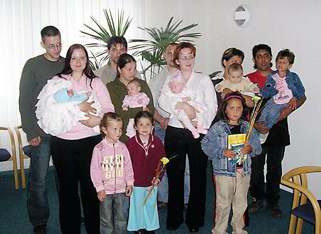 Slavnostní uvítání nových občánků do života se v úterý uskutečnilo v obřadní síni Městkého úřadu v Přimdě