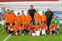 Výběr Okresního fotbalového svazu Tachov skončil svou pouť v Danone cup v republikovém semifinále. Na turnaji v Roudnici nad Labem skončil na třetím místě.