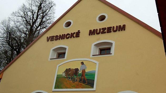 Průčelí muzea