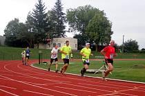 Běžecký Okresní přebor na tři kilometry vyhrál na domácím oválu Jakub Davidík.