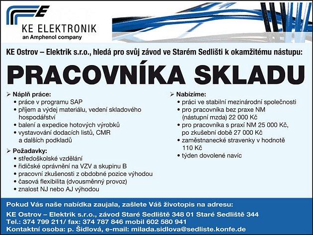 KE Ostrov - Elektrik