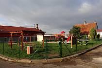 Nové dětské hřiště ve Starém Sedle.