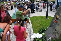 Slavnostní otevření náměstí v Chodové Plané.