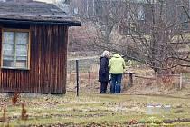 Jeden z posledních snímků zahrádkářské kolonie Třešňovka v Tachově. Brzy zde budou stát dvě bytovky a třiatřicet rodinných domů