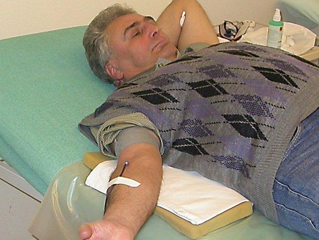 Dobrovolní dárci krve z Tachovska poskytují krev do celého kraje