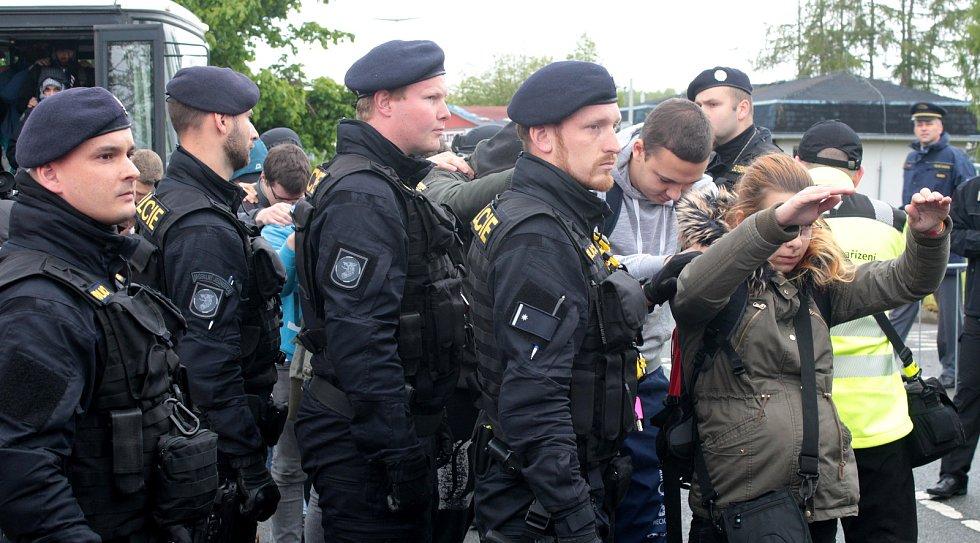 Největší cvičení svého druhu, do kterého se zapojilo na 1200 lidí z řad policie, hasičů, záchranářů a figurantů.