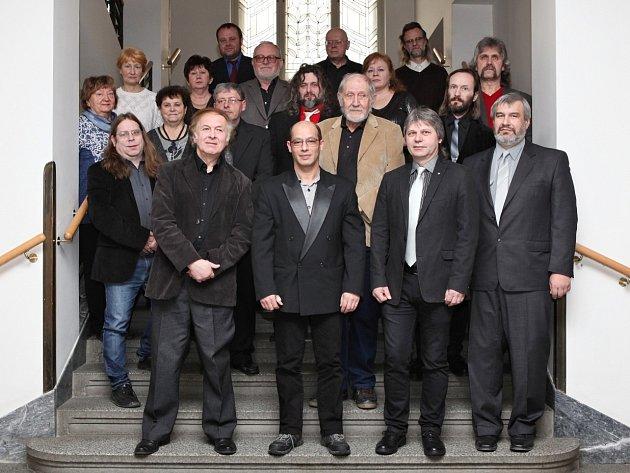 Zaměstnance kulturních institucí zřizovaných Plzeňským krajem ocenili ve čtvrtek v Plzni hejtman Václav Šlajs a radní Jaroslav Šobr.