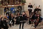 V Boněnově hrála barokní hudba a představili model kostela z Merkuru