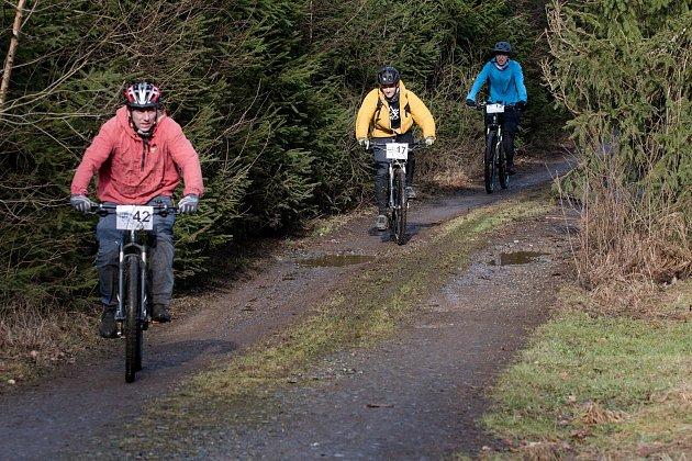 Sníh ani led letos bikery netrápil. Spíše se jednalo oblátivý ročník.