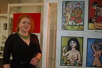 Zahájení výstavy Hanbaté eskapády a Hříšné opojení v Regionálním muzeu v Kladrubech
