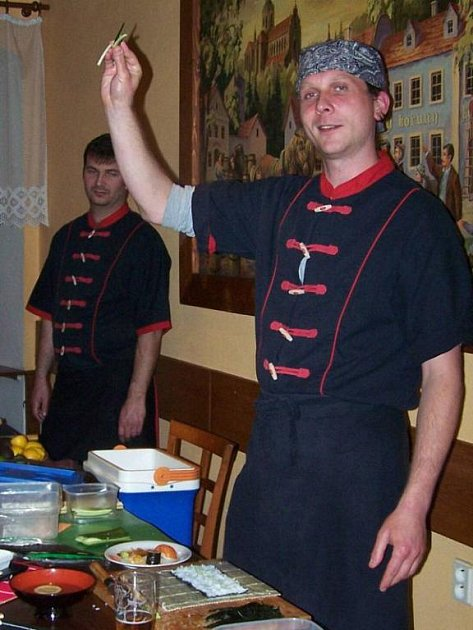 Klubový večer v Kladrubech s kulinářskými odborníky.