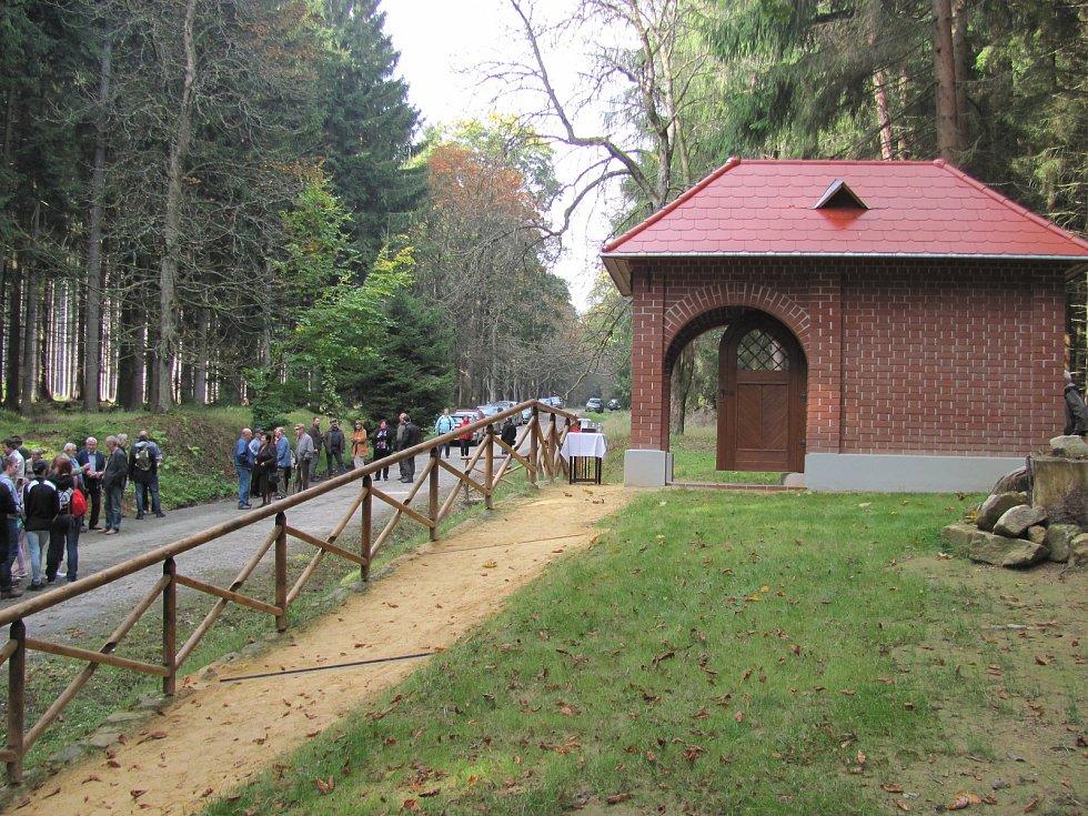 Obnovená kaple u Milířů