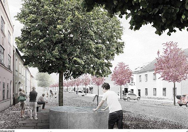 Ulice Dukelských hrdinů už má navržené obrysy - vizualizace.