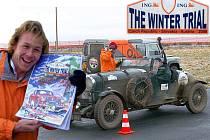 Osmý ročník The Winter Trial. Závod na letišti na Kříženci.