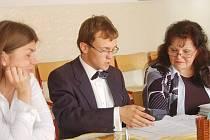 Petr Vystropov z Gymnázia Tachov neměl s němčinou před maturitná komisí žádné problémy. Dařilo se mu i v dalšch předmětech, jako jediný ze školy maturoval také v profilové části z matematiky.