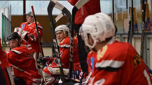 Hokejový Tachov nestačil na zálohu Sokolova (2:7) a i nadále čeká na první body v sezoně.