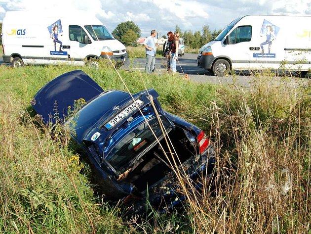 Nehoda na  silnici Tachov - Planá
