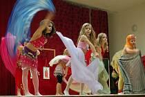 Na vánoční besídce vystoupila i Pipi a zlatovlasá princezna