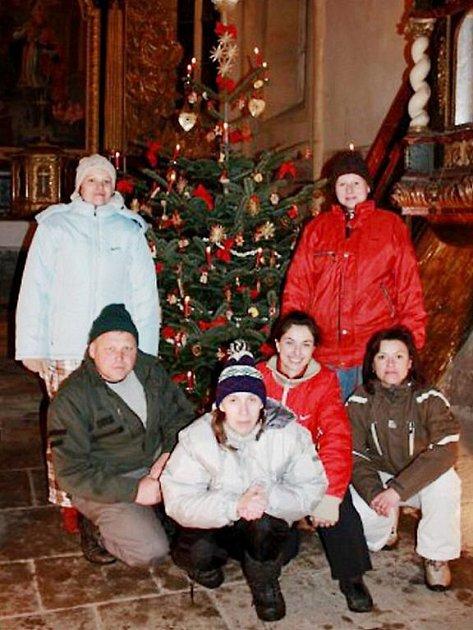 Nejkrásnější stromeček mělo Občanské sdružení v Holostřevech.