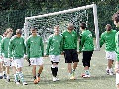 V Tachově je na soustředění mládežnické družstvo Bohemian 1905.