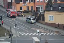 Čtvrteční nehoda vyřadila z provozu světelnou křižovatku v Tachově.